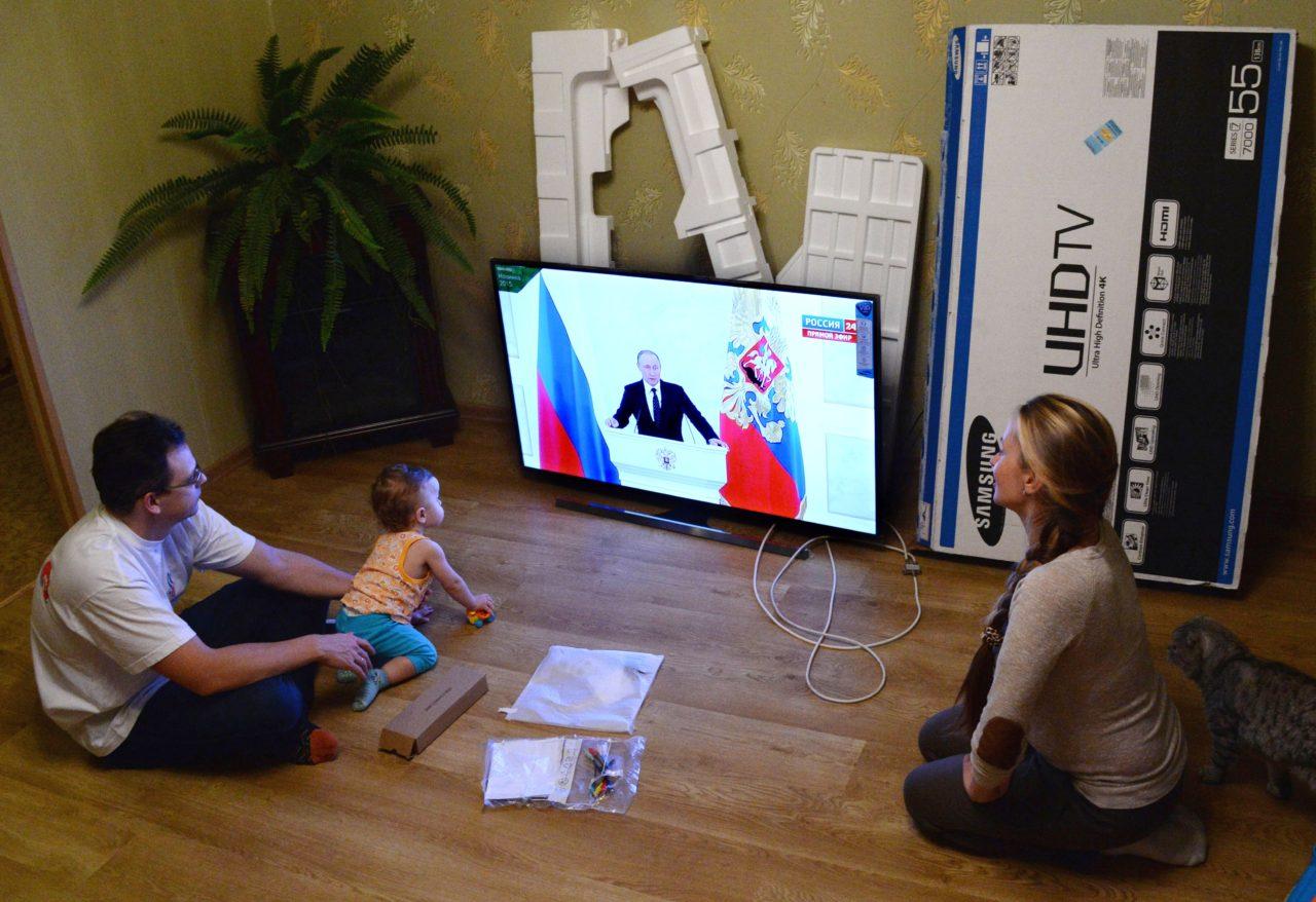 Junge Russen sind mit Putin groß geworden / RIA Novosti
