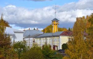 Die Feuerwache mit dem ehemaligen  Wachturm / Tino Künzel
