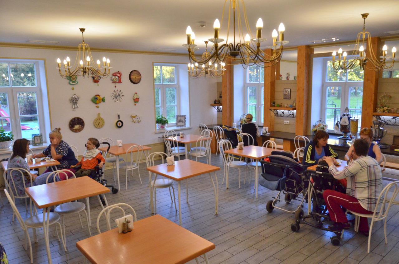 Die Mahlzeiten werden im Speiseraum eingenommen. / Tino Künzel