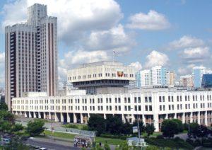 Das Hauptgebäude der Russischen Präsidenten-Akademie für Nationalwirtschaft und Öffentliche Verwaltung (RANEPA) , dem Ort des Geschehens / wkazarin.ru