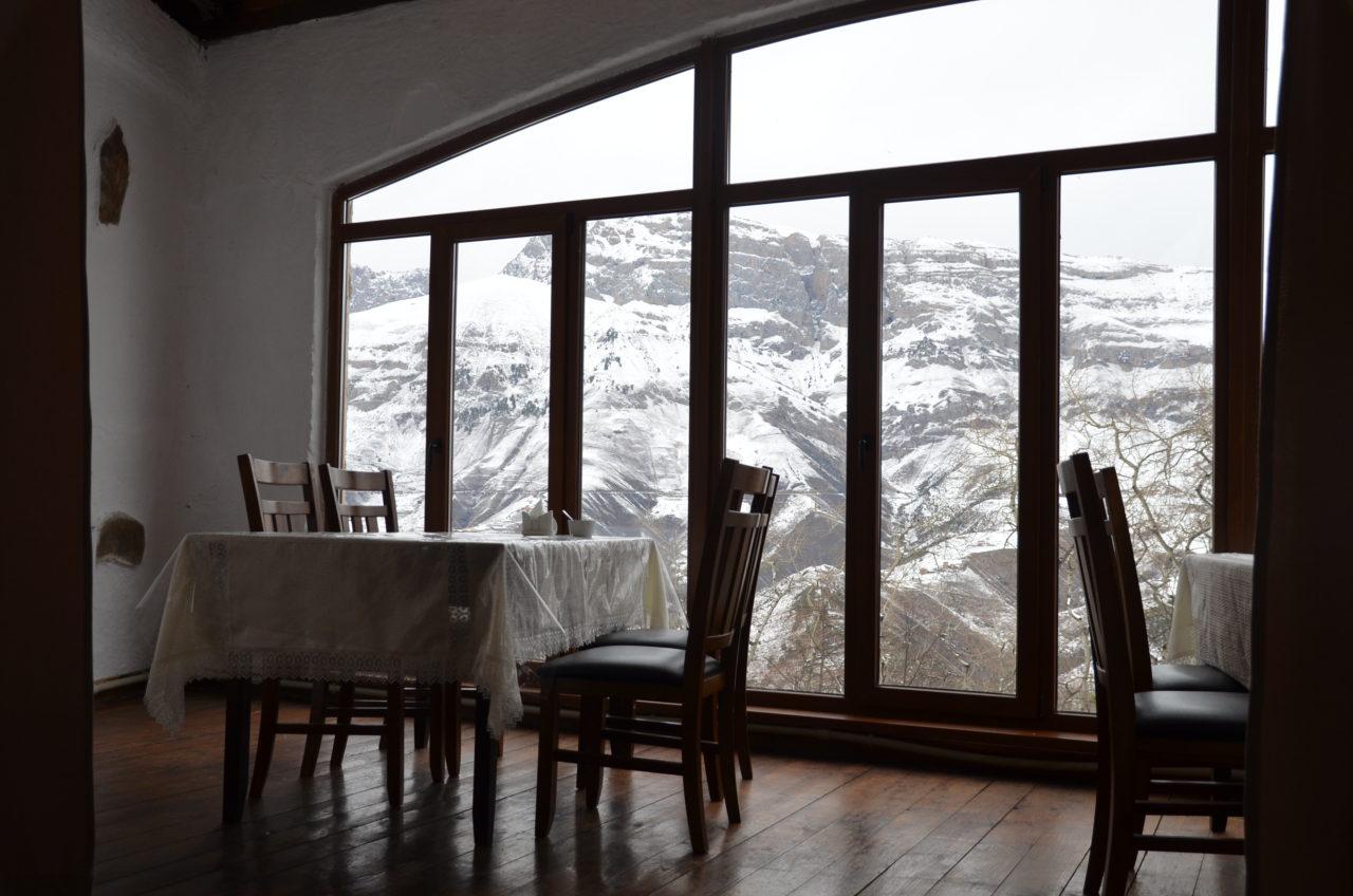 """Panoramarestaurant """"Ersi"""" in Armhi / Peggy Lohse"""