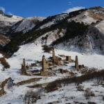 Die alte inguschische Stadt Targim und ihr Friedhof / Peggy Lohse