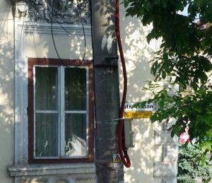 Die Parkgasse in Mühlbach / Peggy Lohse