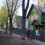 Dorfidylle im Stadtteil Sokol / Foto: Anastassija Buschujewa.