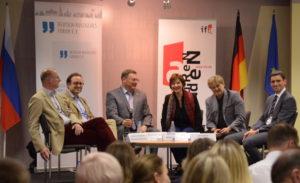 Gute Stimmung beim dritten Moskauer Gespräch 2017 / Peggy Lohse