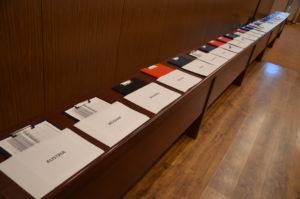 Unterschriften sammeln für die MSPI, FUEN-Kongress 2017, Cluj-Napoca/Koloszvár/Klausenburg, Rumänien / Peggy Lohse
