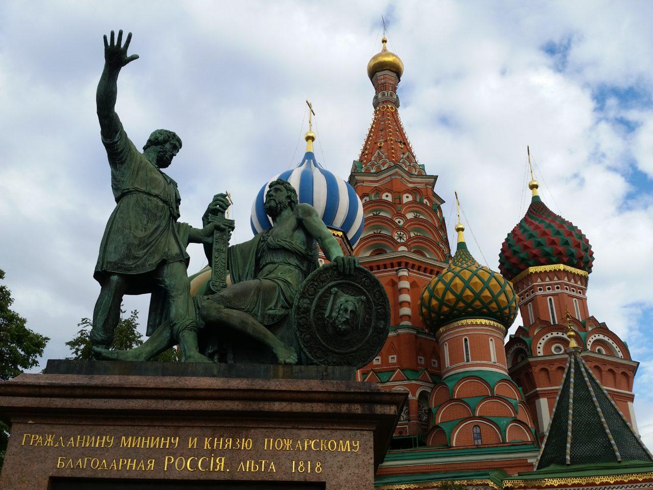 Ein Moskauer Touri-Klassiker: die Basilius-Kathedrale am Roten Platz / Peggy Lohse