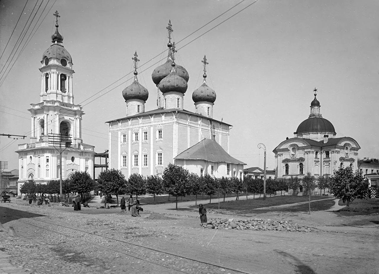 Vor über 100 Jahren: Reisepalast Twer, vor der Revolution 1917 / Archivbild