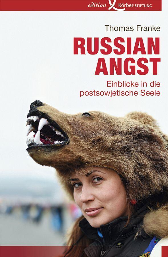 "Thomas Franke ""Russian Angst"" / Buch-Cover"