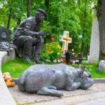 """Grab des sowjetischen Schauspielers Jurij Nikulin (u.a. """"Zwölf Stühle"""", """"Der Diamantenarm"""") / Peggy Lohse"""