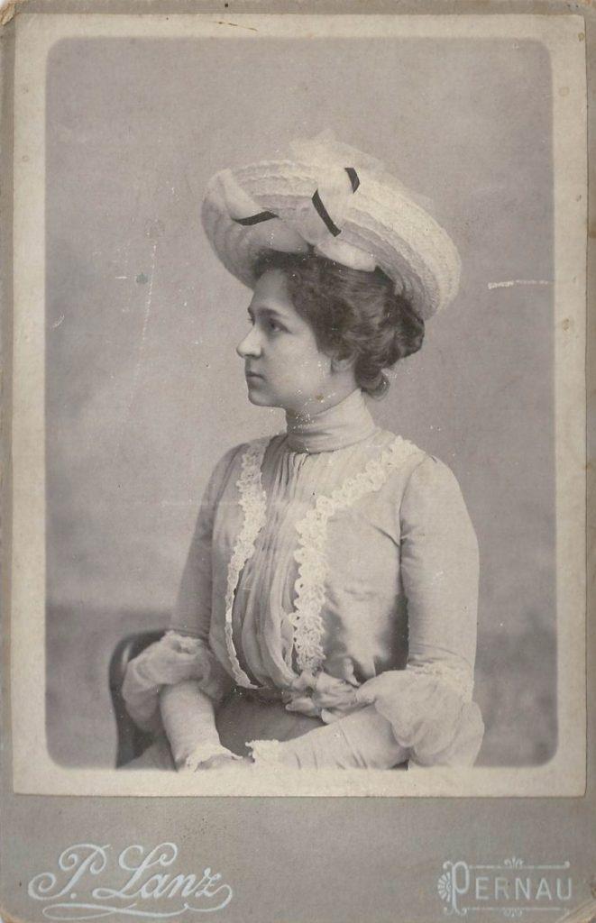 Elsa Lanz in jungen Jahren / Archiv N. Rymko