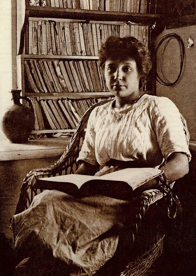 Poet Woloschin fotografierte Zwetajewa 1911 in Koktebel, Krim. / Wikipedia