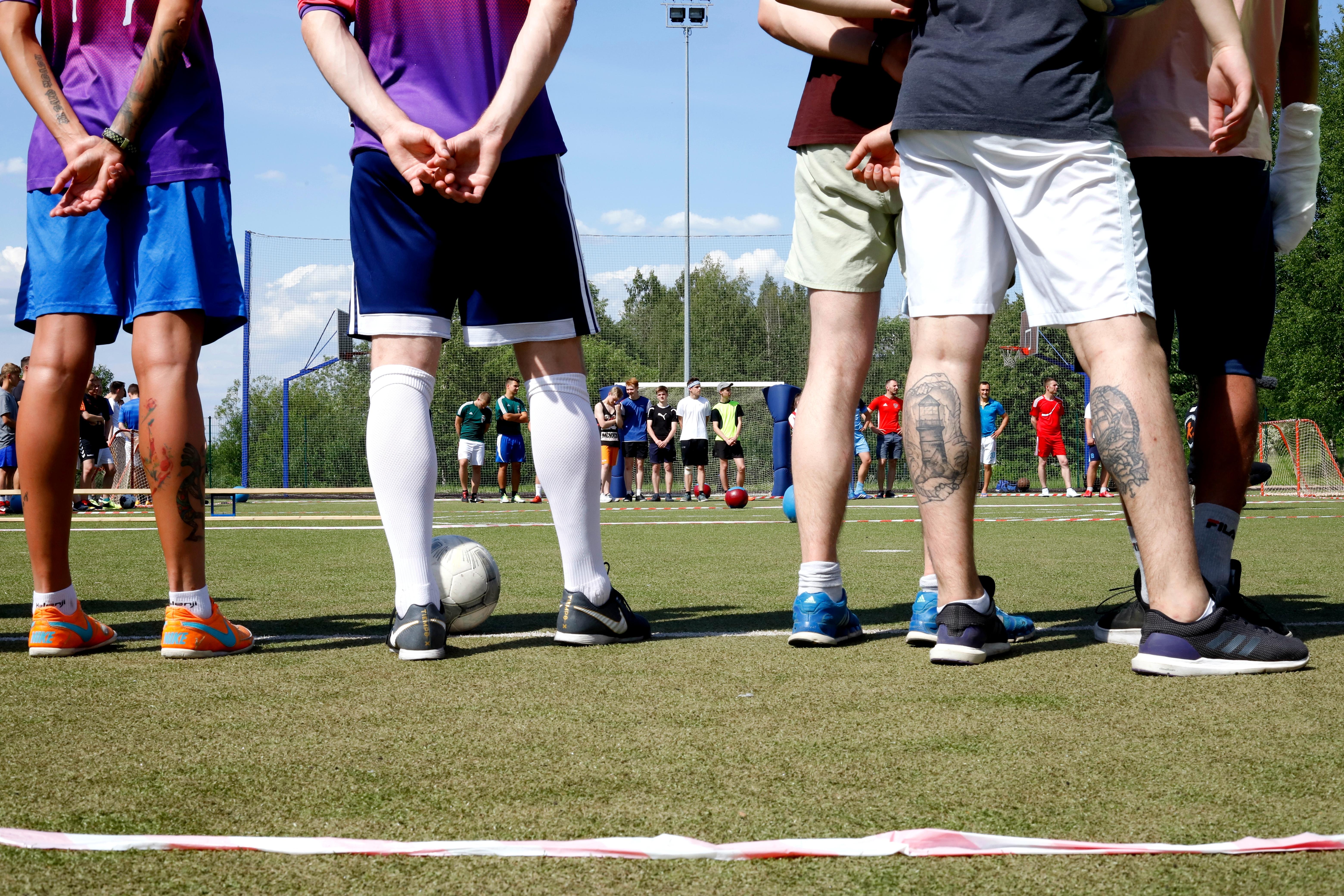 Deutsch-Russische Fußballbrücken in Nowoje Dewjatkino / Peggy Lohse