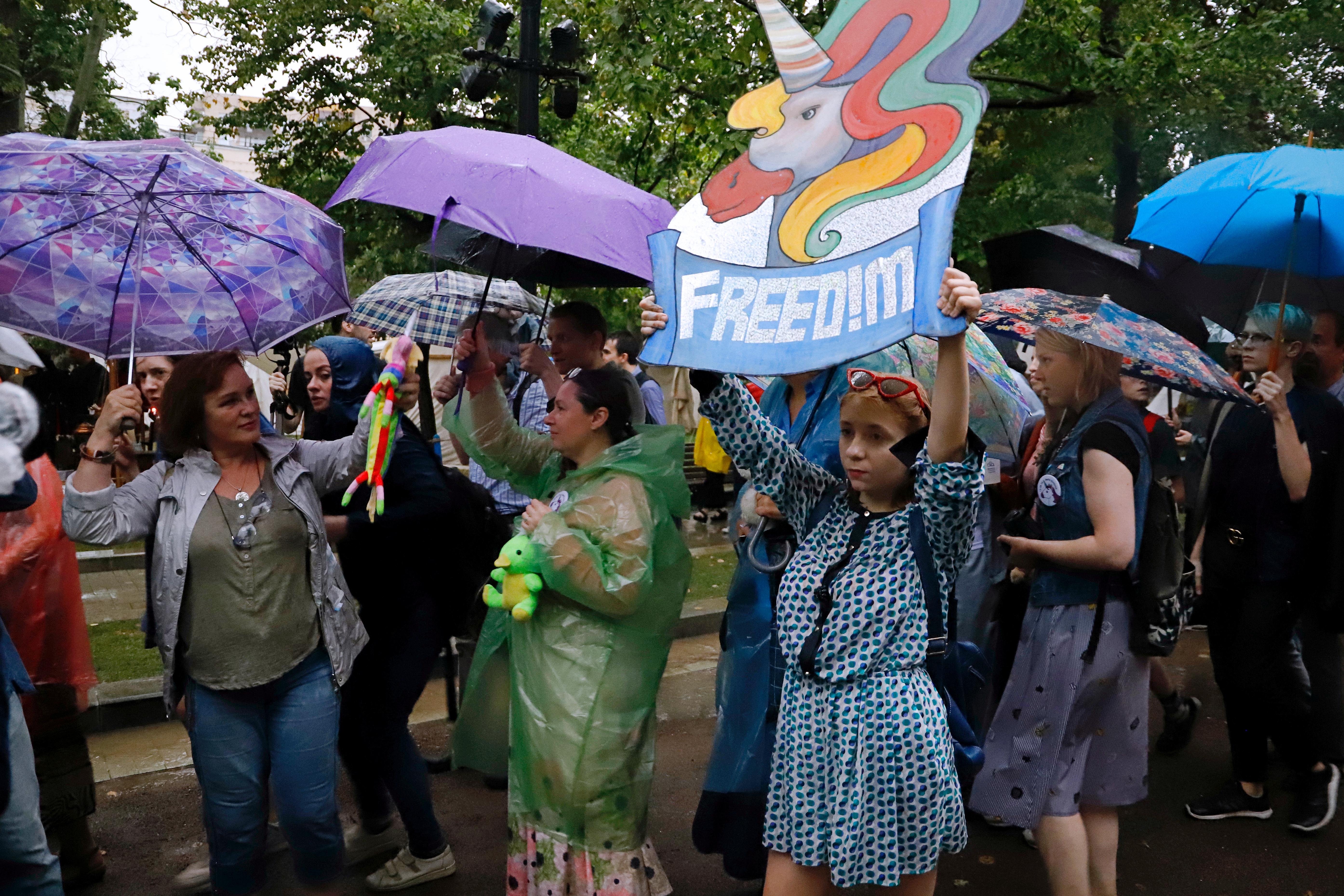"""""""Marsch der Mütter"""", Moskau, 15. August 2018 / Peggy Lohse"""