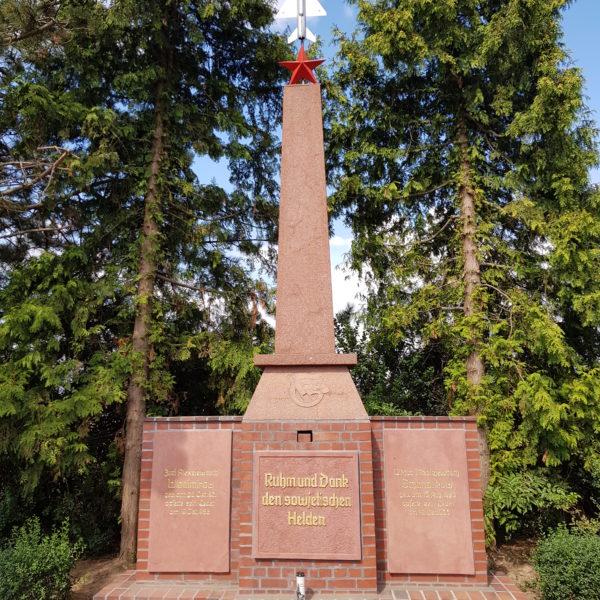 Das Denkmal in Syhra
