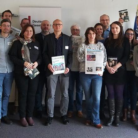 """""""Deutschsprachige Medien im östlichen Europa"""""""