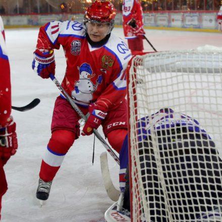 Putin Eishockey