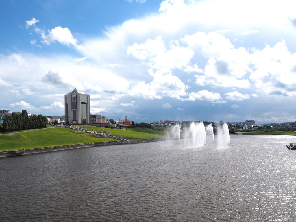 Regierungsturm in Tscheboksary