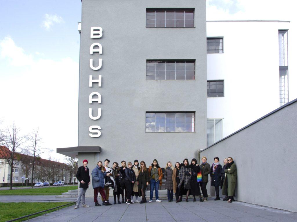 Sind wir alle Nomaden? Studierende aus Moskau präsentierten beim Bauhaus in Dessau ihr Projekt über öffentliche Räume.