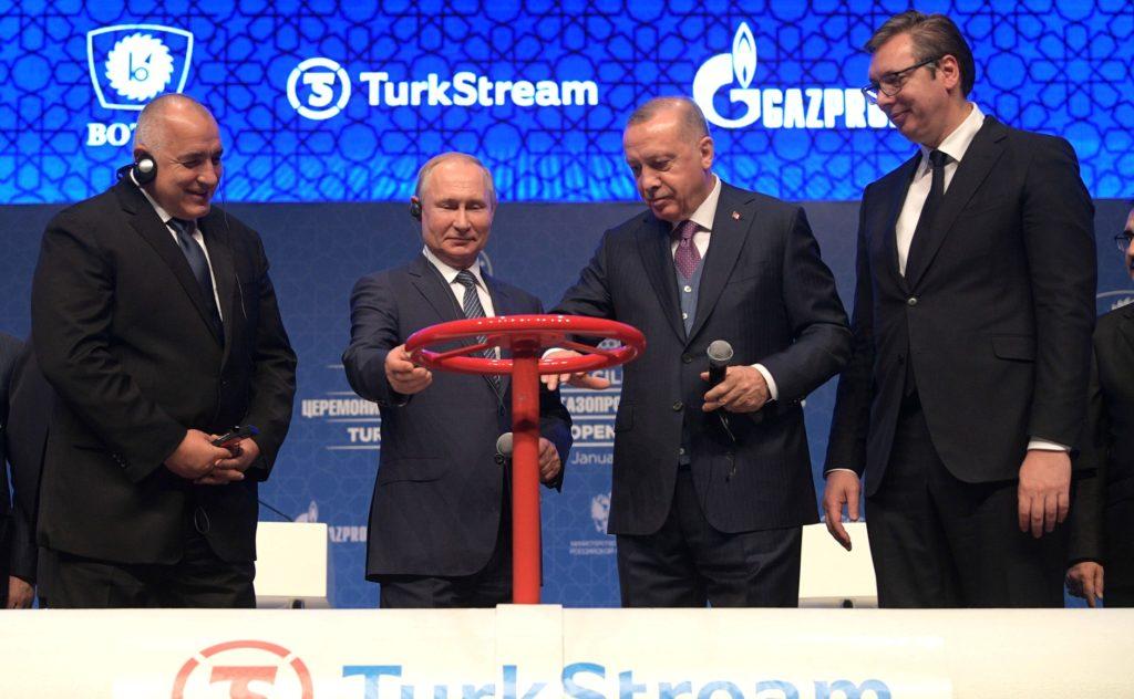 Turkish Stream Eröffnung