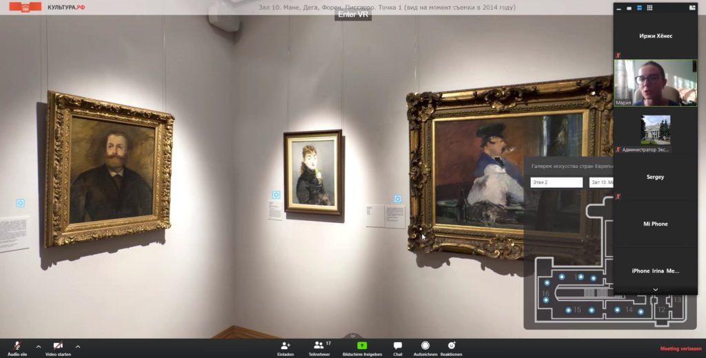 Online-Tour im Puschkin-Museum