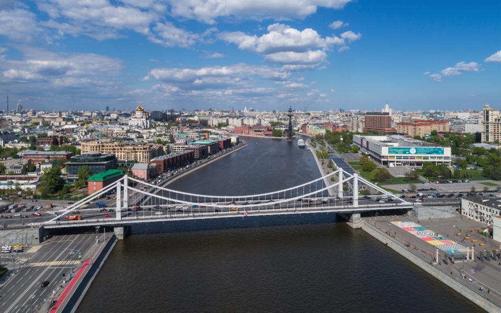 Moskaus Brücken: Die Krimbrücke