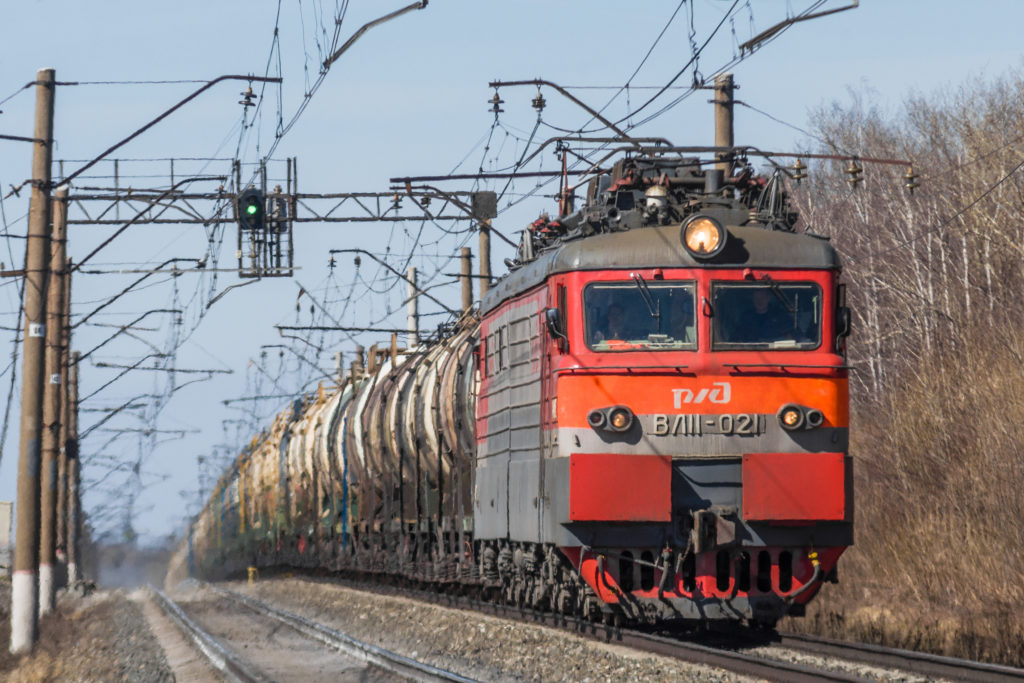 Güterverkehr per Bahn: Russlands Lebensadern
