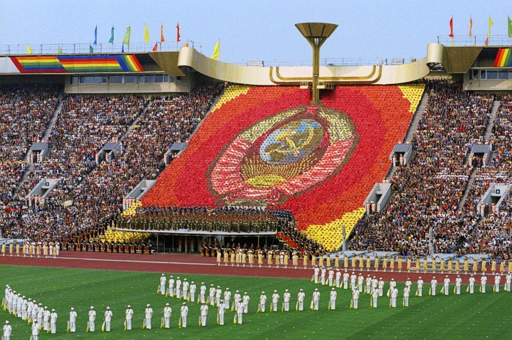Olympia 1980: Eröffungsfeier