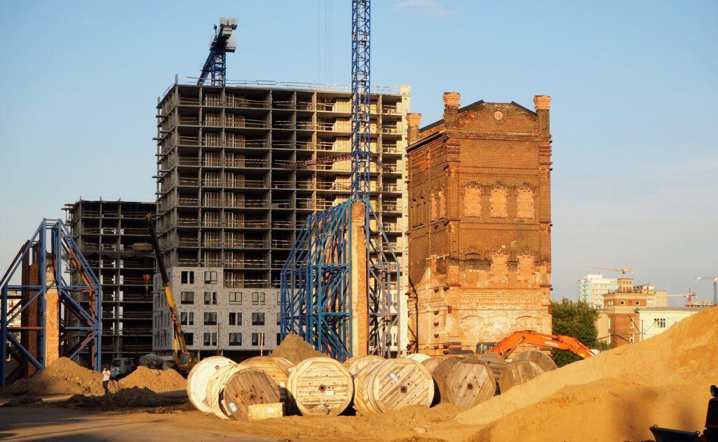 Denkmalschutz bei Wohnpark-Projekt: Der Wasserturm bleibt erhalten.