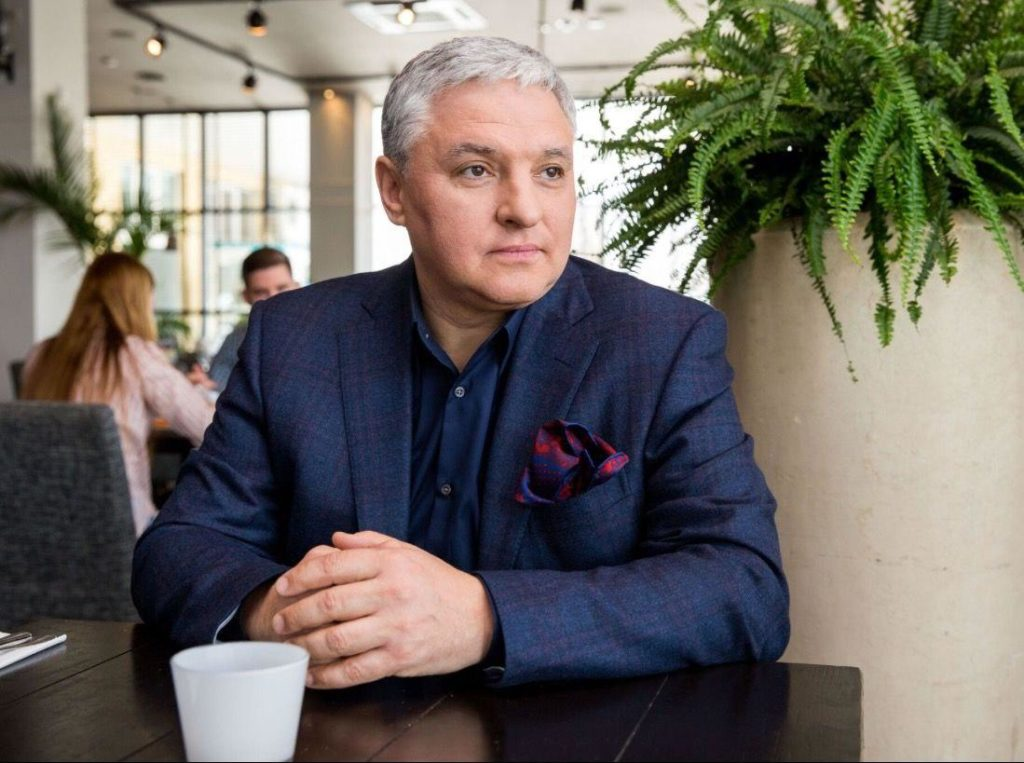 Igor Bucharow ist Chef der russischen Gastronomen