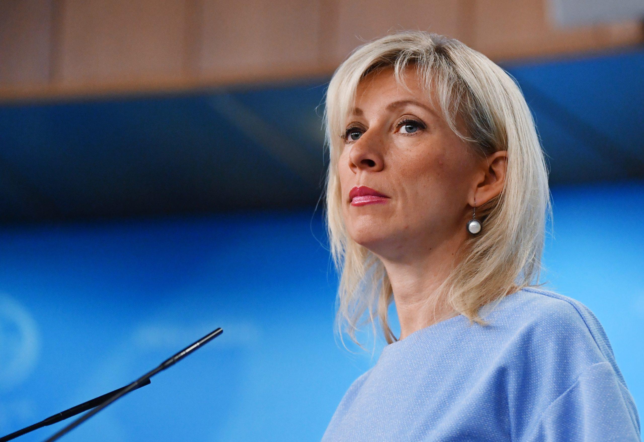 Maria Sacharowa: Die Lautsprecherin - Moskauer Deutsche