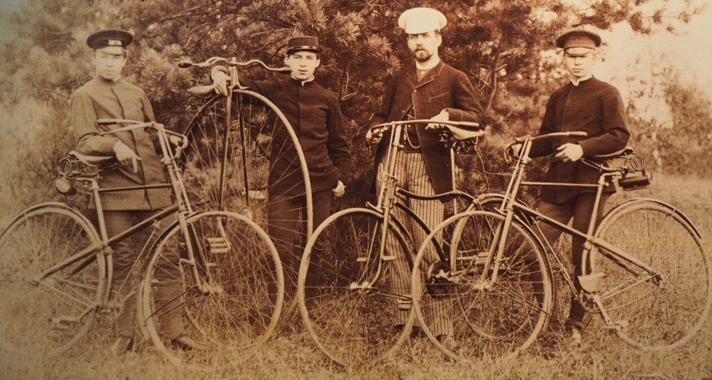 Geschichte des Fahrrads in Moskau
