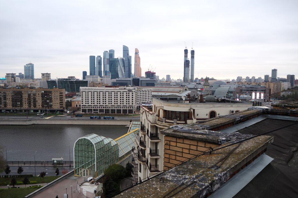 Moskau Dächer: Ungewohnte Ausblicke