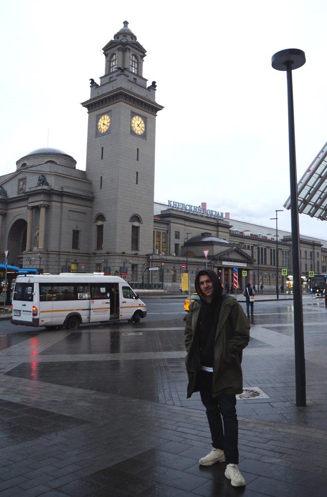 Mit Andrej über Moskaus Dächer