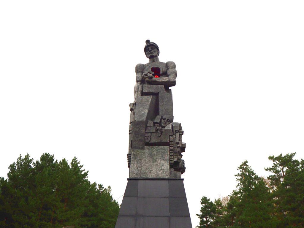 Ernst Neiswestnyjs Denkmal für die Bergleute des Kusbass
