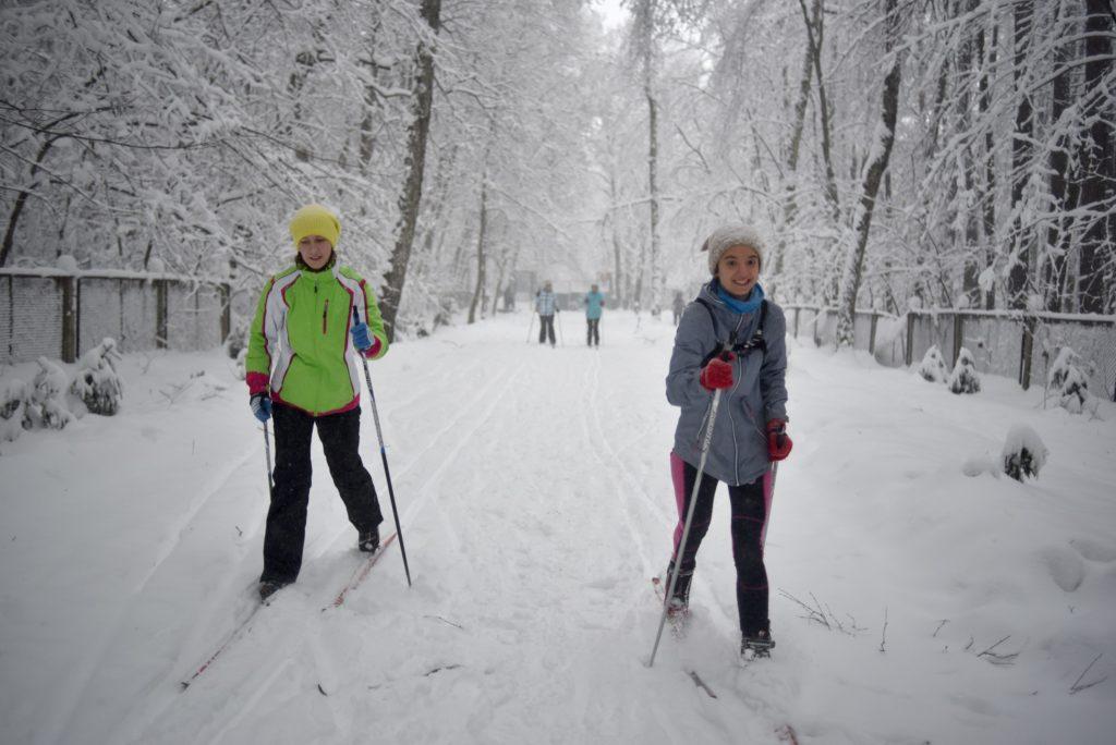 Langlauf in Moskau