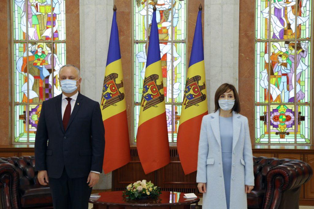 Amtsübergabe in Moldau