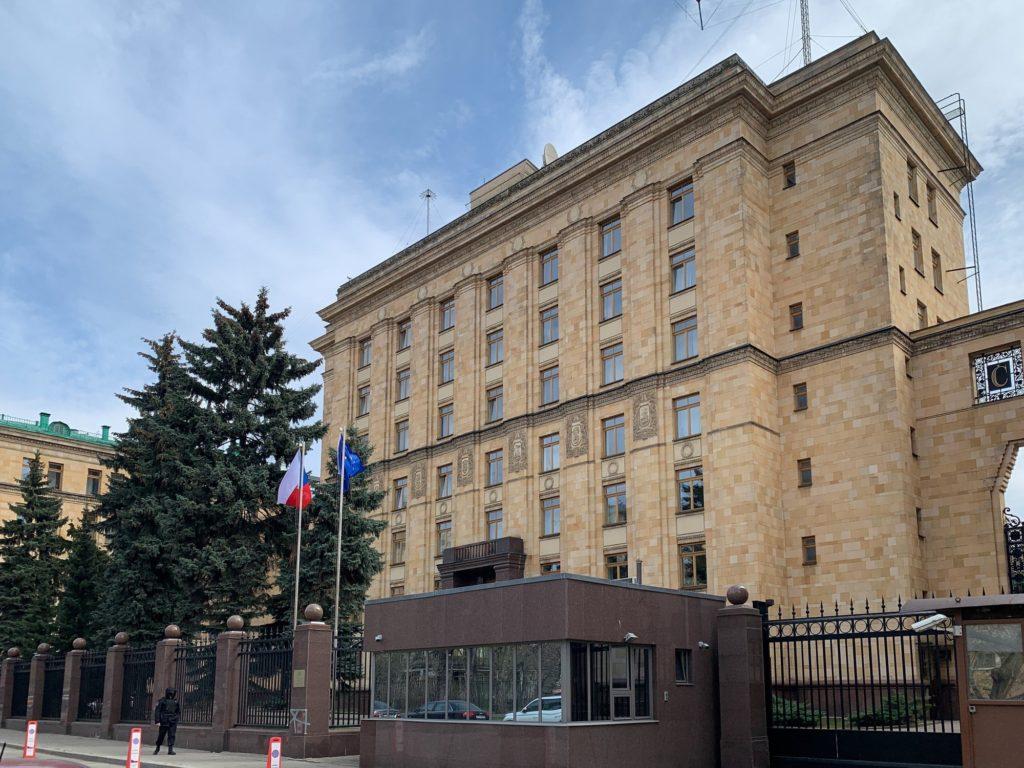 Tschechische Botschaft in Moskau